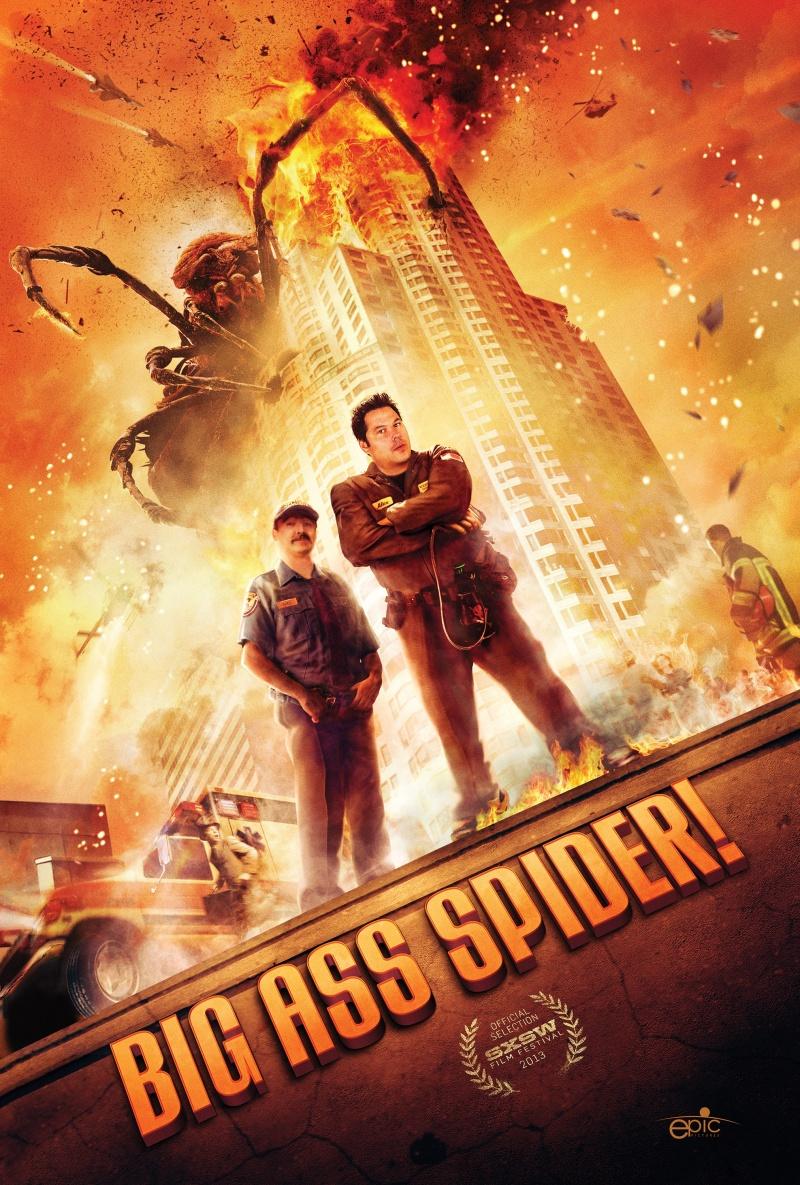 Big Ass Spider / Грамадански паяк (2013)