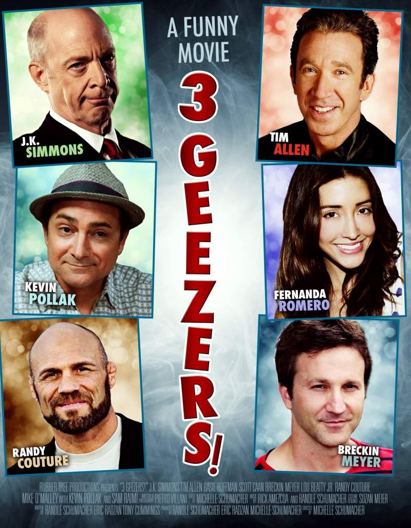 3 Geezers! / 3 дядки! (2013)