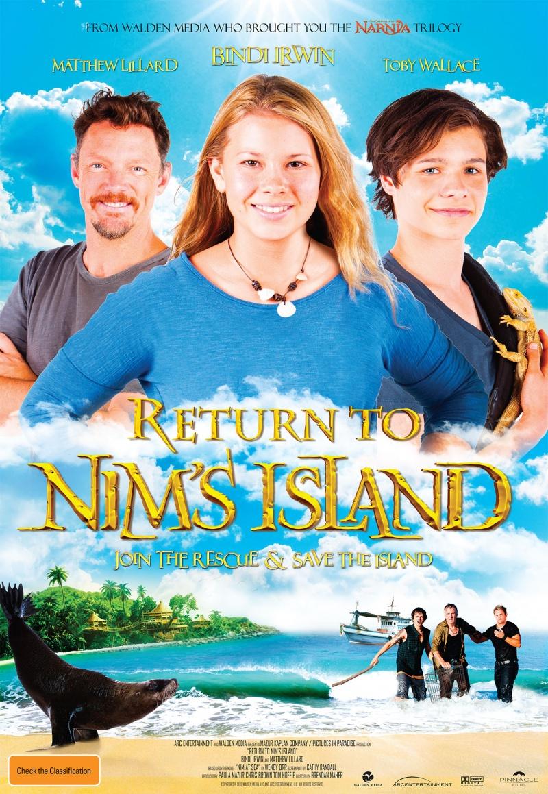 Return to Nim's Island / Завръщане на острова на Ним 2013
