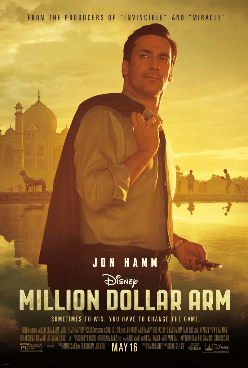 Rka Za Milioni Million Dollar Arm Filmi Trejlri Snimki Cinefish Bg