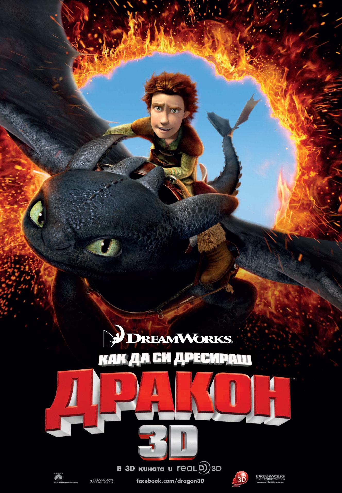 How to Train Your Dragon / Как да си дресираш дракон (2010)