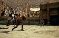 Откъс от филма, битка на арената