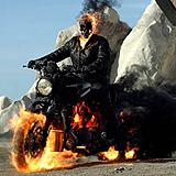 """Официални снимки от триизмерната фантастика """"Призрачен ездач 2: Духът на отмъщението"""""""