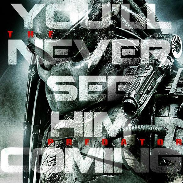 """Тийзър плакат от """"Хищникът"""" на Шейн Блек"""
