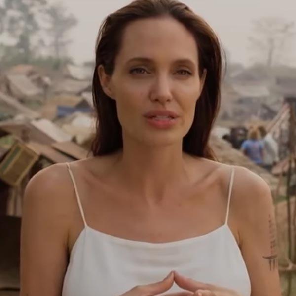 Анджелина Джоли се срещна със сирийски бежанци