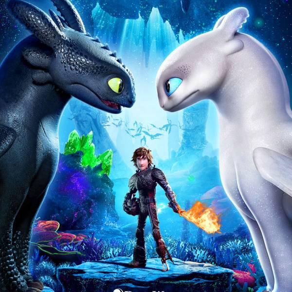 """Първи плакат на """"Как да си дресираш дракон 3"""""""