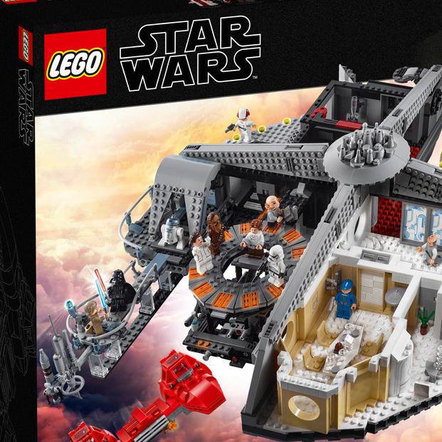 """""""Империята отвръща на удара"""" в Lego вариант"""