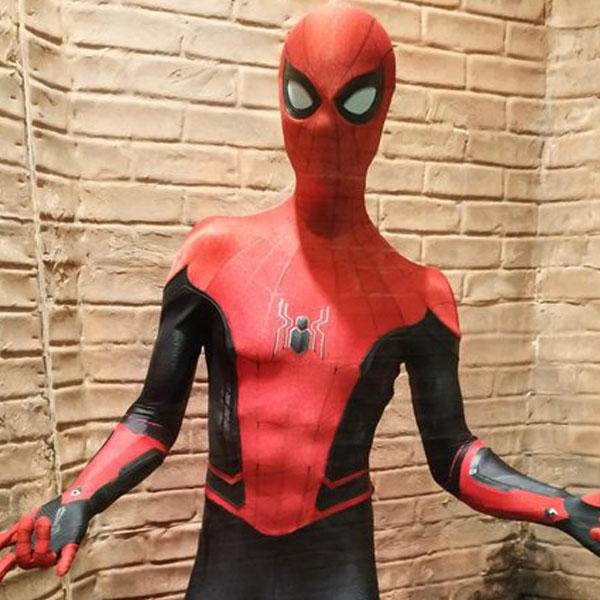 Новият костюм на Спайдър-мен