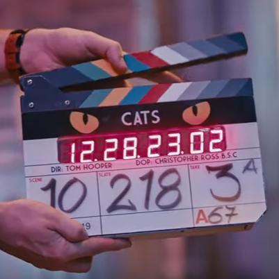 """Впечатляващо видео зад кадър със звездите от мюзикъла """"Котките"""""""