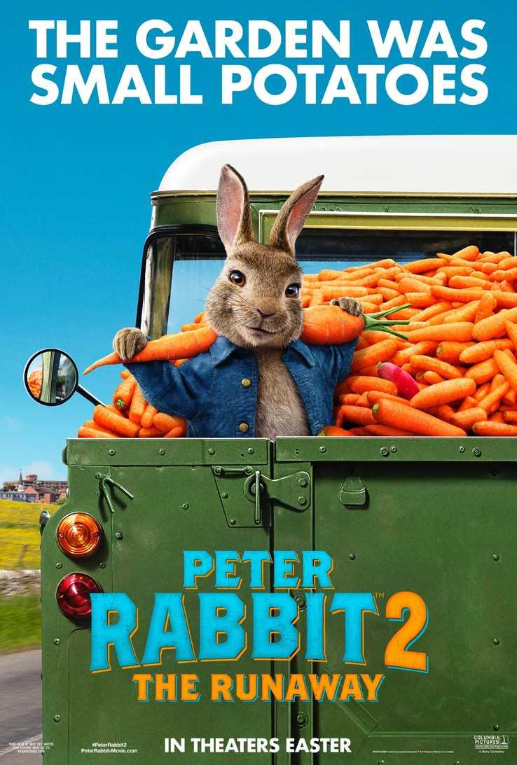 """Кино програма """"CINELUX ВИДИН"""": Зайчето Питър: По широкия свят - 11-17.06.2021"""