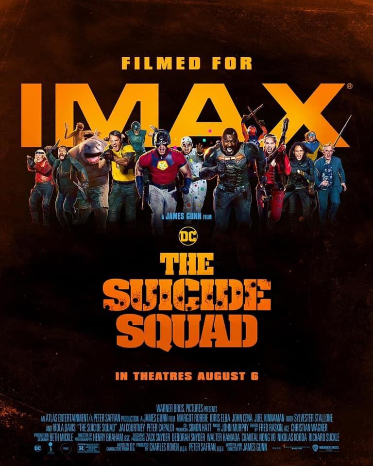 Очаквайте неповторимото супер-геройско забавление Отрядът самоубийци в кината и IMAX!