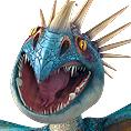 СМЪРТОНОСНИЯТ ЗМЕЙ от култовата 3D анимация ''Как да си дресираш дракон''