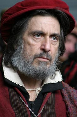 Al Pacino in the new screening of King Lear