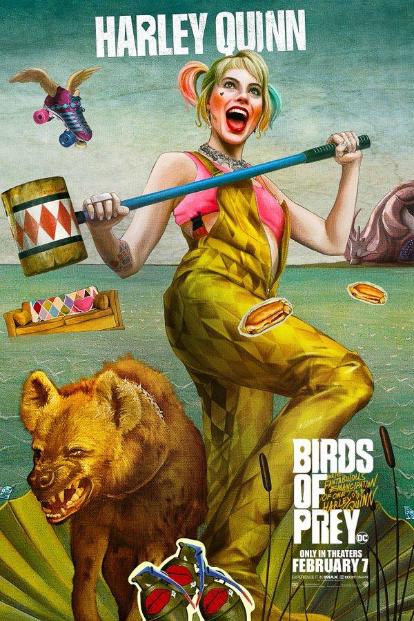 Хищни птици (И фантастичната еманципация на Харли Куин)