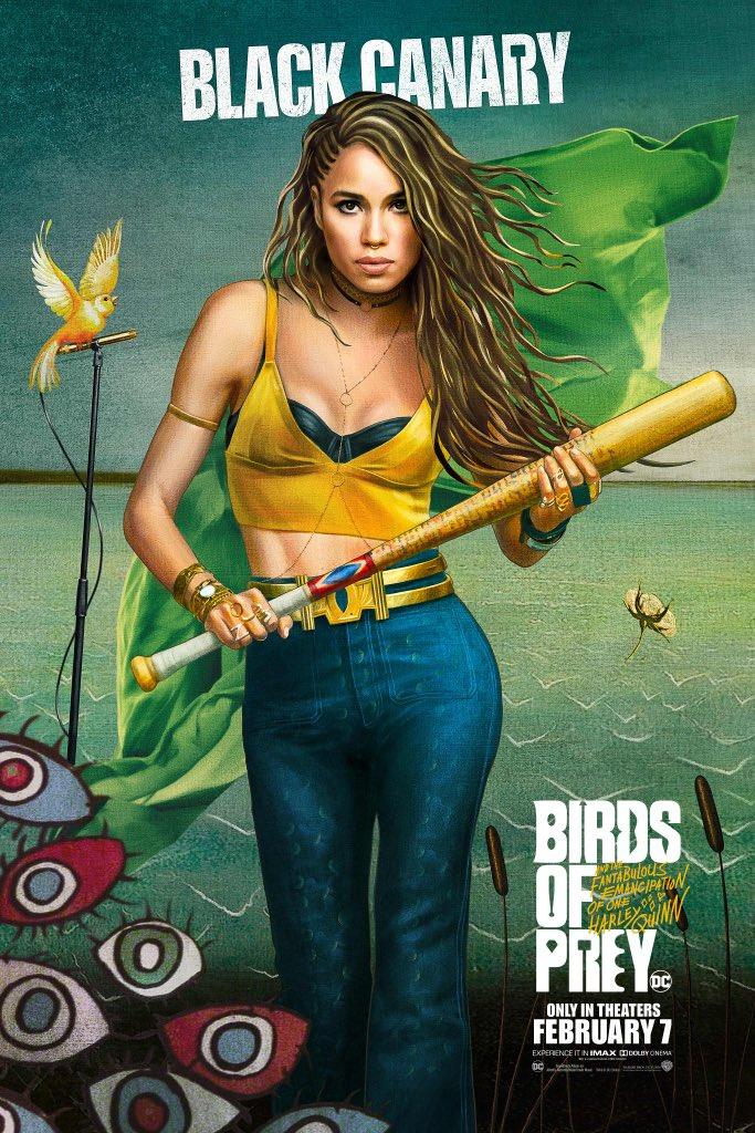 Хищни птици Черното канарче (Джърни Смилет-Бел)