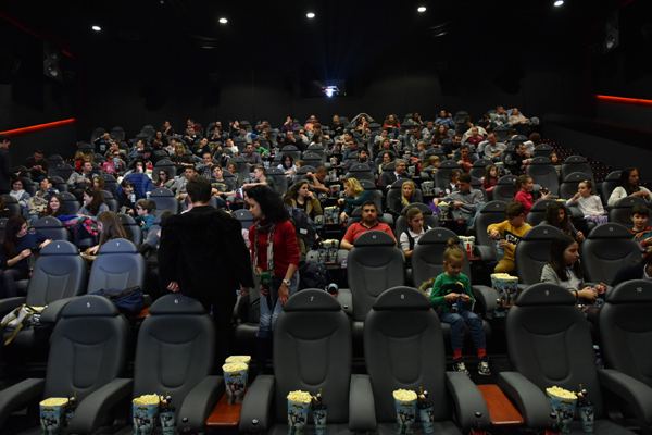 ЗАЛА LUXE: A RealD Experience отвори врати в Кино Арена Мол Варна