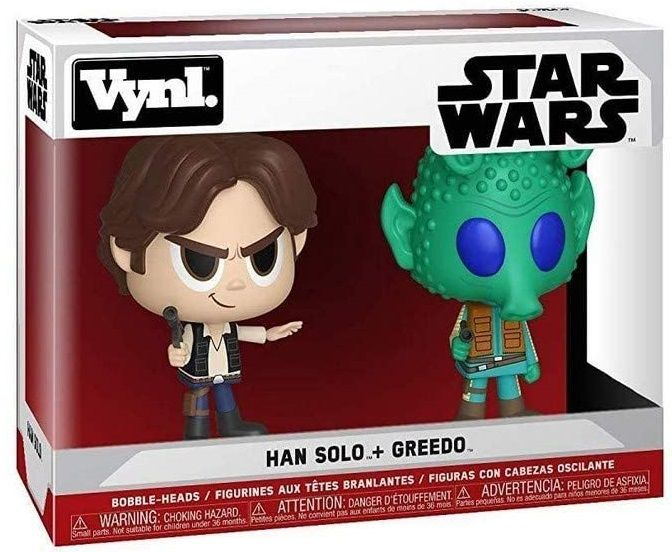 Комплект фигури Funko VYNL Movies: Star Wars - Han Solo & Greedo