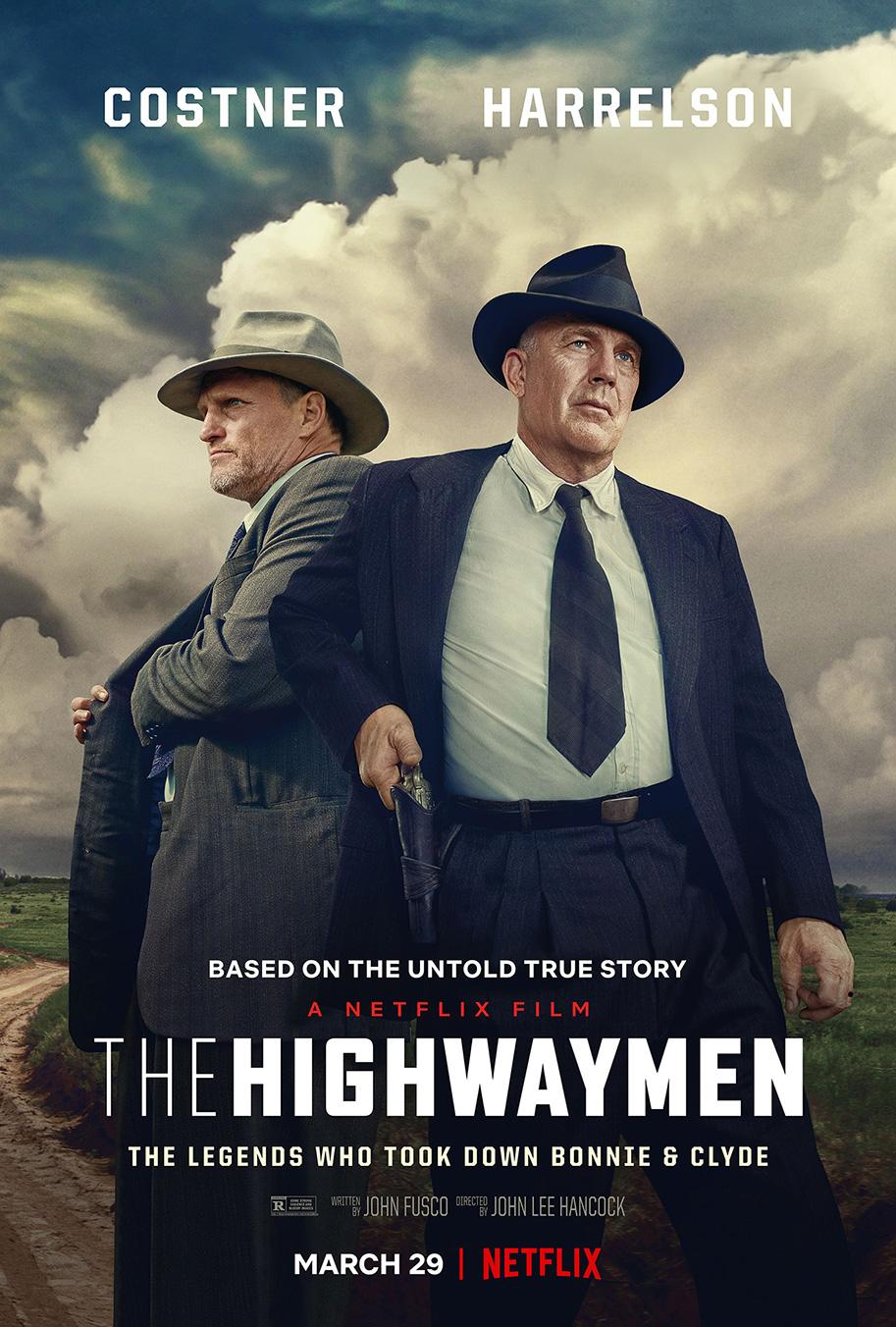 """Кевин Костнър и Уди Харелсън в първи трейлър на """"The Highwaymen"""""""